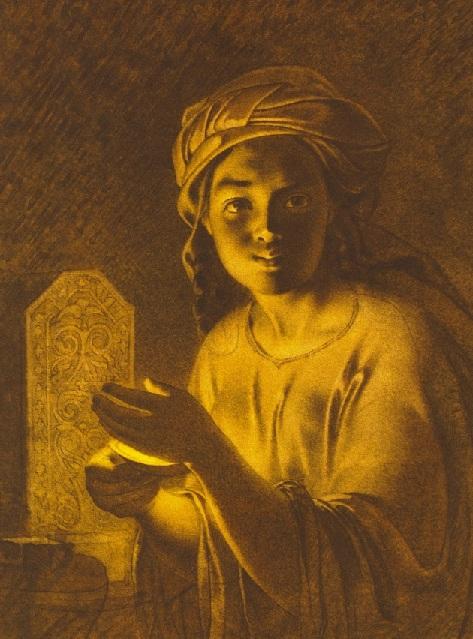 Казашка Катя. (1857). Автор: Т.Шевченко