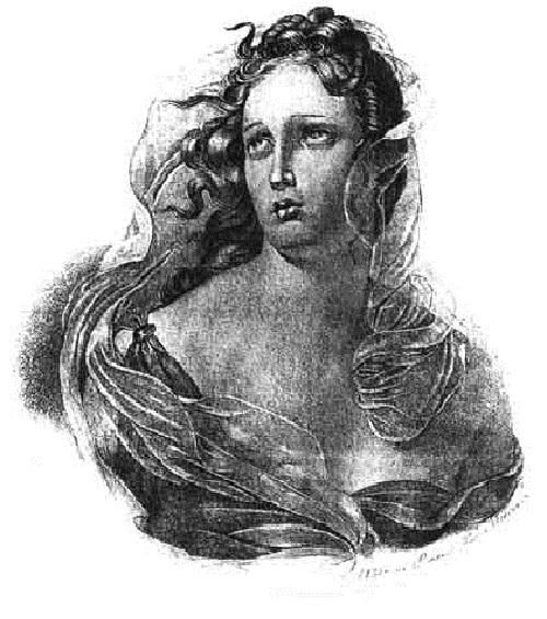 Ядвига Гусиковская. (1830). Автор: Т.Шевченко