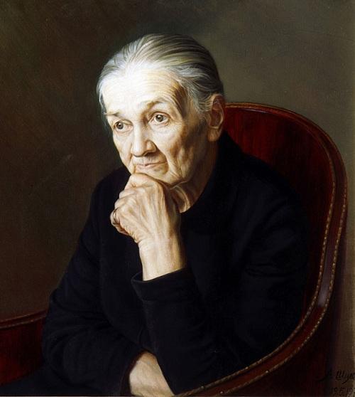 «Моя бабушка». 1977. Автор: Александр Шилов. | Фото: aif.ru.