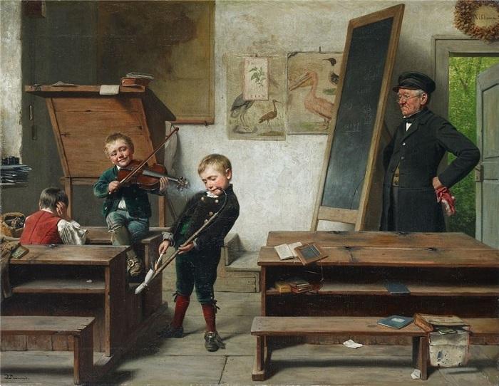 «Юные музыканты». Автор: Lustige Arrestanen.
