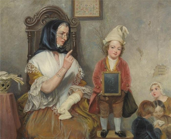 «Первый рисунок». Автор: Роберт Уильям Бусс.