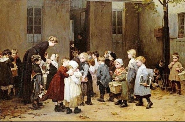 «Снова в школу». Автор: А.Жоффруа.