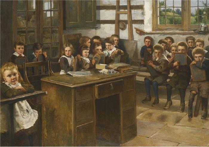 В классе. Автор: William H. Parkinson.