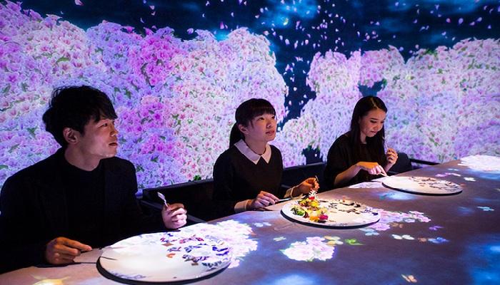 Завораживающая музыка и интерактивное театрализованное представление от ресторана  Sagaya.¦ Фото: mymodernmet.com.