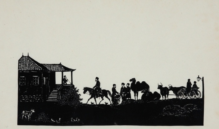 Постоялый двор в Тифлисе. 1840-е годы. Автор: Толстой Ф.П.
