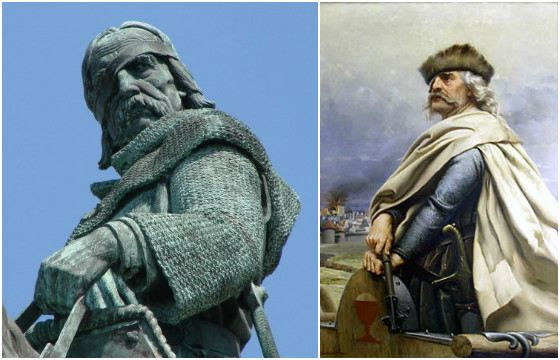 Национальный чешский герой Ян Жижка, предводитель восстания, завещавший сделать из его кожи боевой барабан.