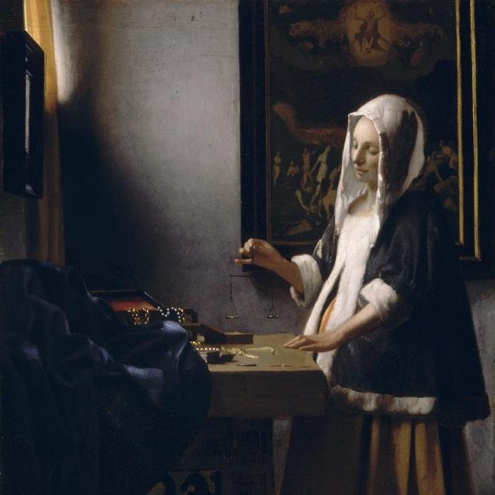 «Женщина, держащая весы.» Автор: Ян Вермеер. | Фото: artchive.ru.