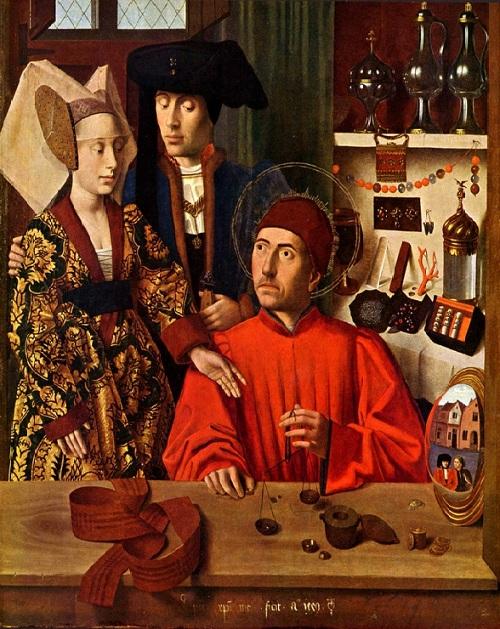 «Святой Элигий».(1449). Автор: Петрус Кристус. | Фото: artchive.ru.
