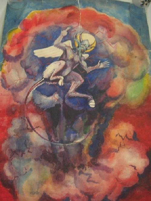 Люцифер. Автор: Виктор Цой. ¦ Фото: estemine.com.
