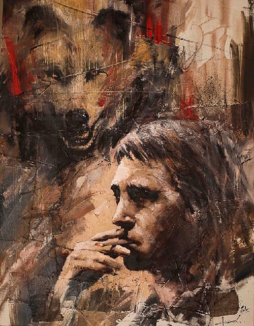 В.Высоцкий. Идет охота на волков. Автор: Ильяс Айдаров.