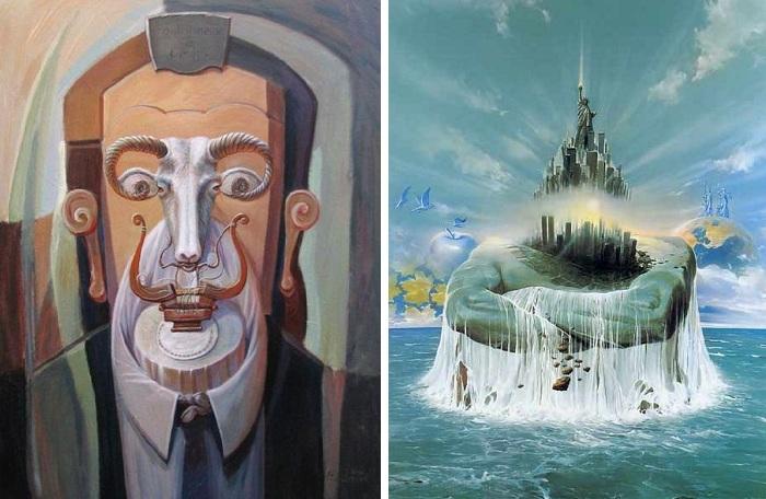 Сюрреализм  современных художников
