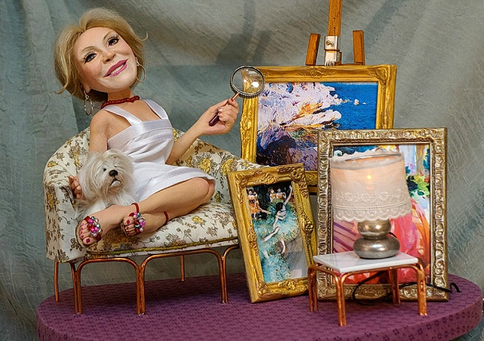 «Баронесса Тиссен». Автор: В.Волегов.