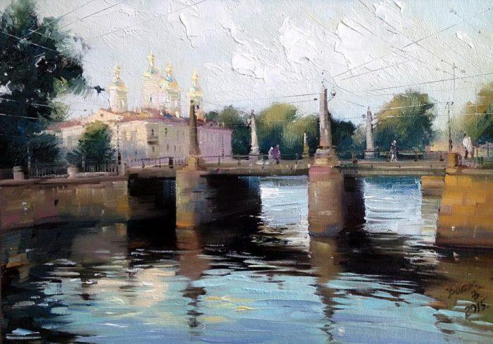 У Пикалова моста. Автор: Бэгги Боем.