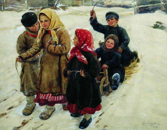 «Тройка». (1906). Автор: Федот Сычков.