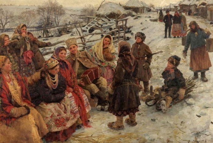 «Свободное время». (1910). Автор: Федот Сычков.
