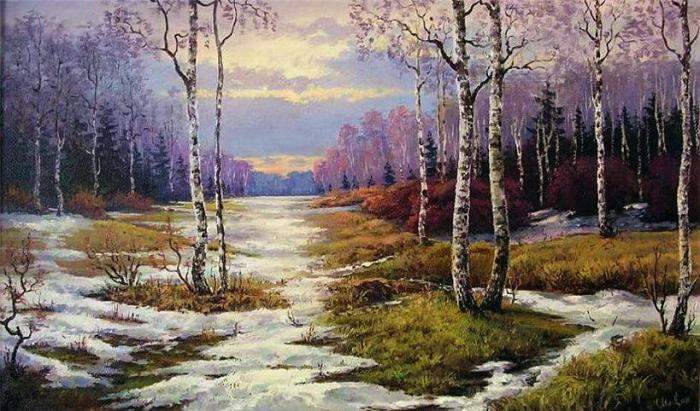 «Весна» . Автор: Станислав Малярчук.