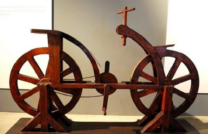 Прототип велосипеда,