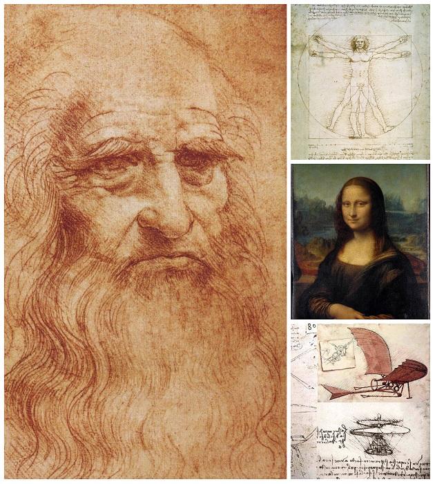 Леонардо да Винчи - гений эпохи Возрождения.