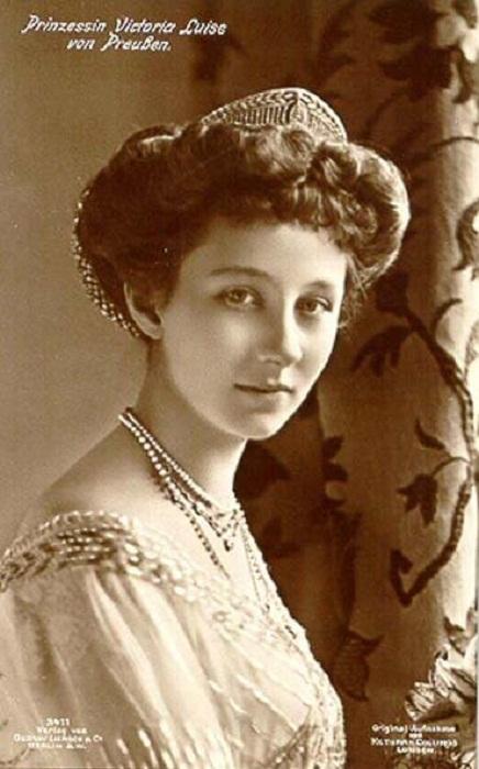 Принцесса Виктория Луиза Прусская, бабушка Софии Греческой