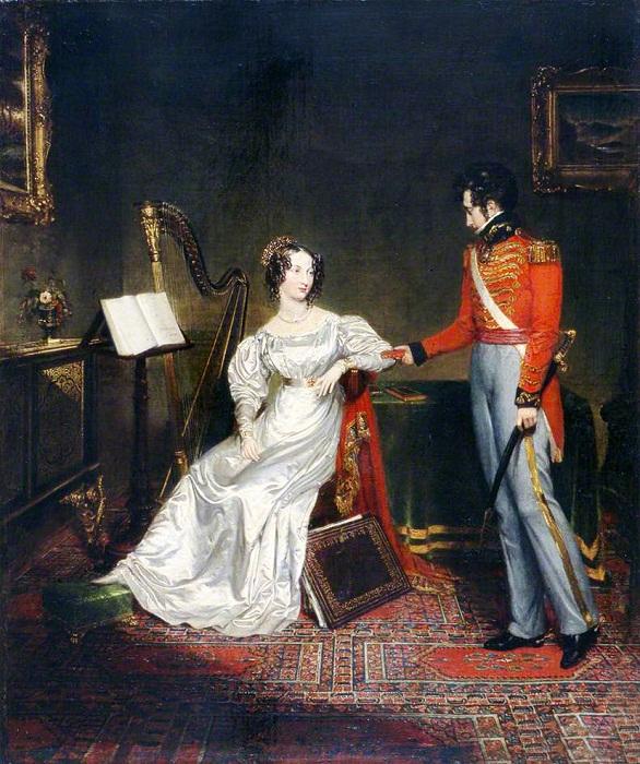 Помолвка принца Леопольда Саксен-Кобургского и Шарлотты, принцессы Уэльской