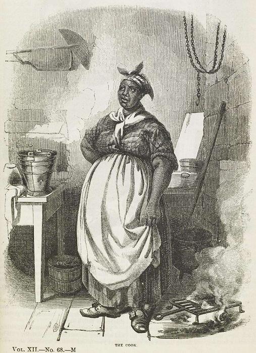 Черная кухарка (штат Вирджиния, 1850 год)