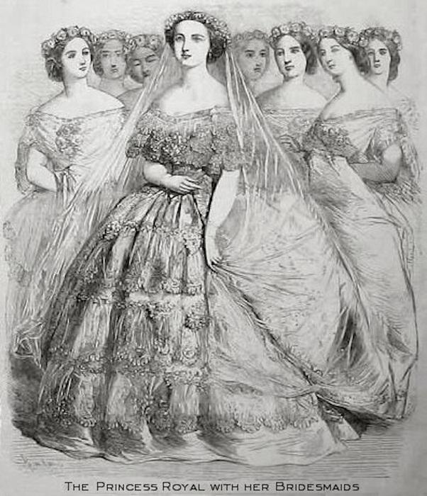 Виктория и подружки невесты