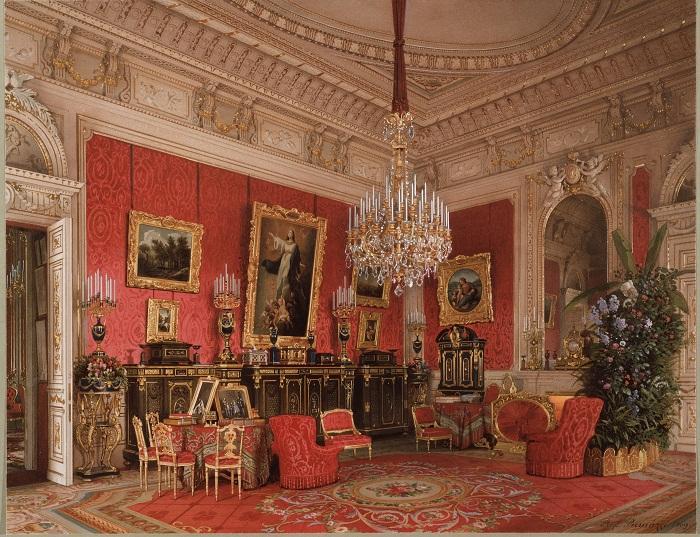 Малиновый кабинет Премацци Л. 1869 г.