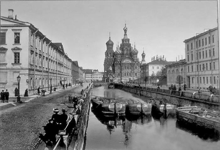 Спас-на-Крови. Фото 1910 г.