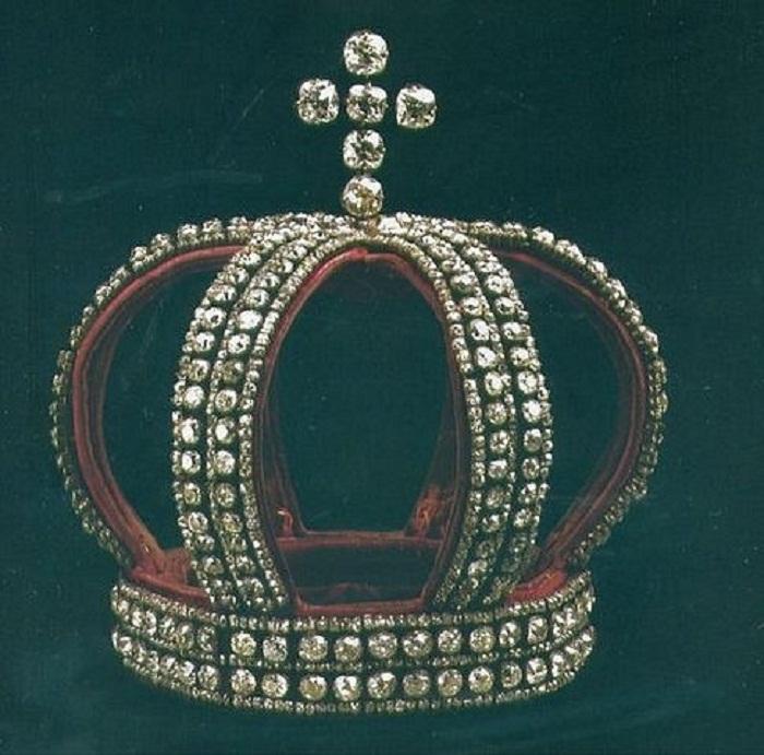 Венчальная корона Дома Романовых