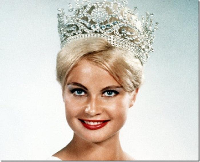 Марлен Шмидт (Германия) - Мисс Вселенная 1961. Рост 173 см