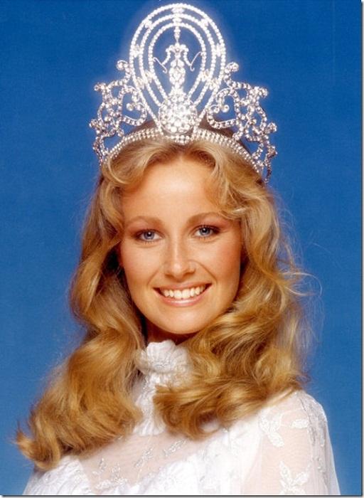 Ивонн Ридинг (Швеция) - Мисс Вселенная 1984. Рост 170 см.