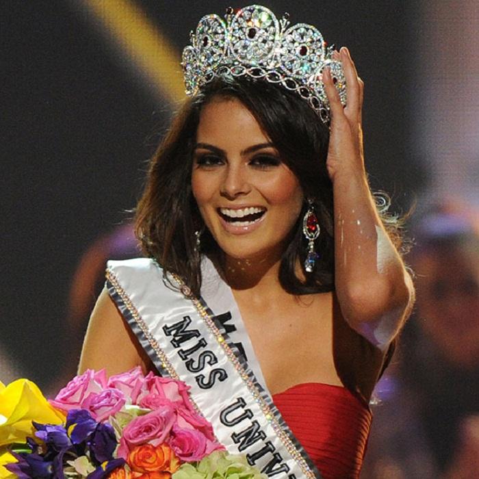Химена Наваррете, Мексика. Мисс Вселенная-2010  22 года, рост 174 см