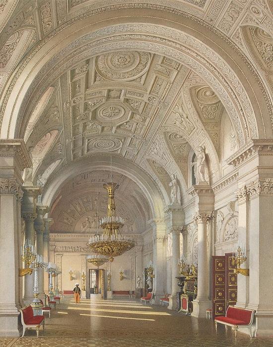 Л. Премацци. Белый зал. 1865 г.