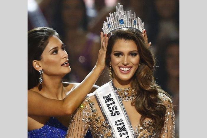 «Мисс Вселенная 2016»: Ирис Миттенар, Франция. 24 года рост 173 см