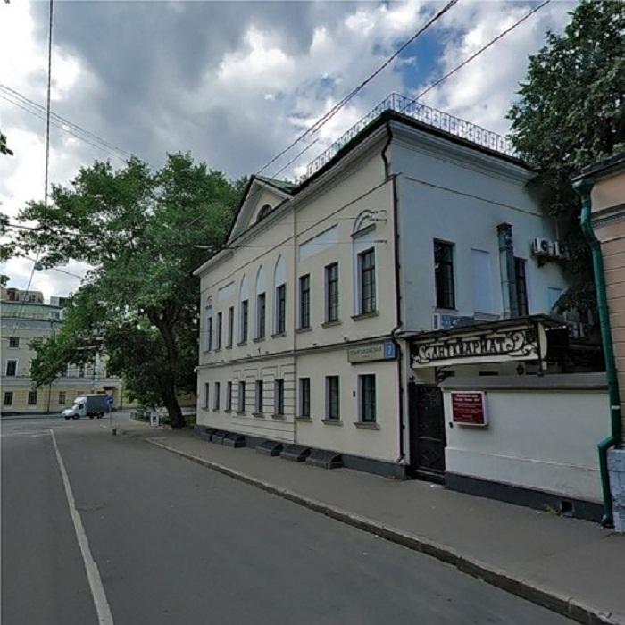 Дом в Елоховском проезде, где некогда находилось ювелирное производство Г.Г. Клингерта