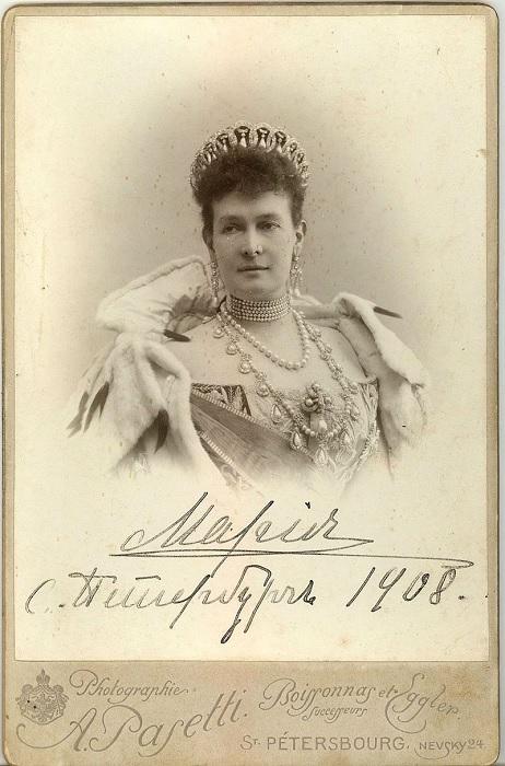 Великая княгиня Мария Павловна во Владимирской тиаре