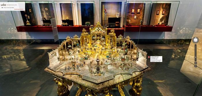 Самая знаменитая работа Динглингера в музее