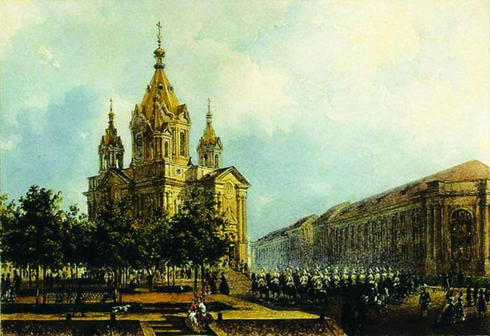Церковь Благовещения лейб-гвардии Конного полка