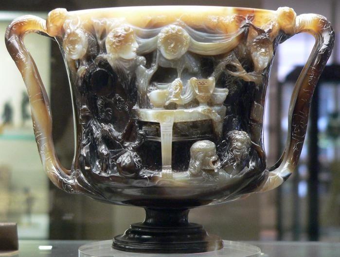 Кубок Птолемея (задняя часть)