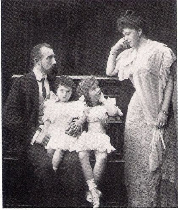 Супруги София и Михаил с дочерьми