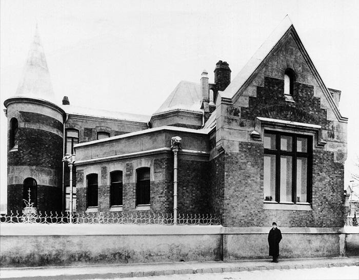 Дом Ф. О. Шехтеля. Фото конца 1890-х годов