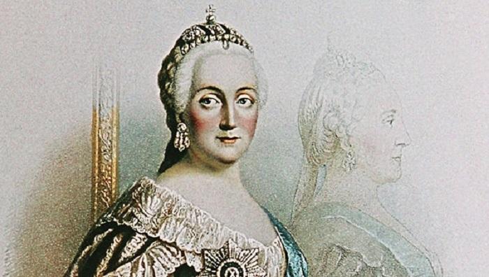 Императрица Екатерина II, мать Павла I
