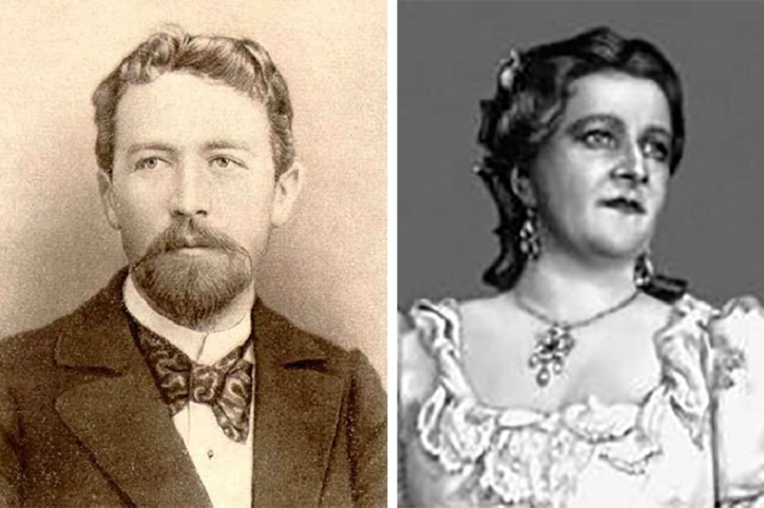 Антон Павлович Чехов и Елена Шаврова