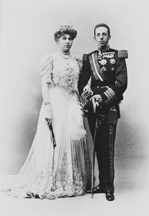 Виктория Евгения де Баттенберг и Альфонсо XIII