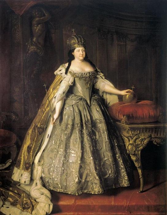 Коронационное платье Анны Иоановны