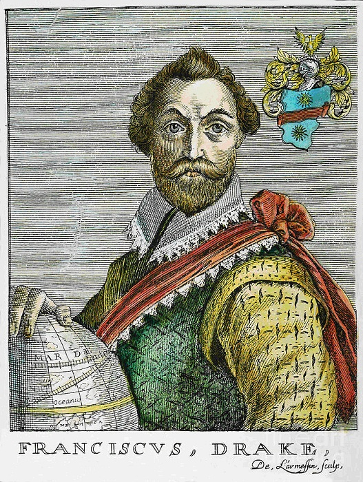Сэр Френсис Дрейк (1540-1596)