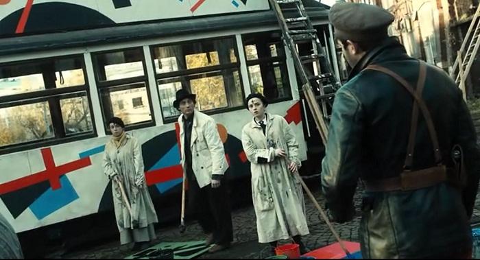 Супрематический трамвай
