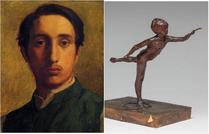 Эдгар Дега и его скульптуры