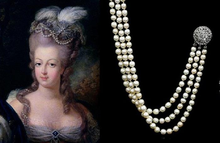 Аукцион Сотбис: Редкая возможность полюбоваться на украшения Марии Антуанетты