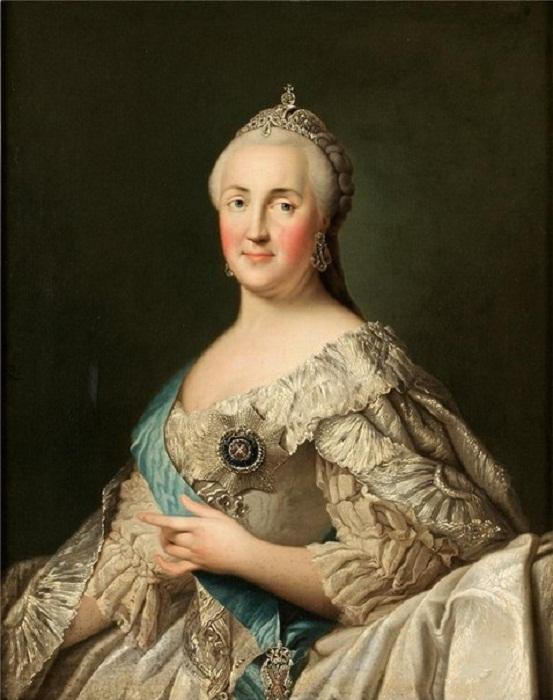 Вигилиус Эриксен. Екатерина II Алексеевна (Великая). 1716-1749 гг.